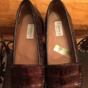 Davinci crocodile loafers worn once or twice 10M